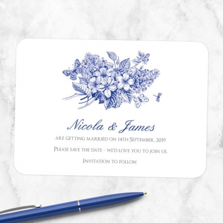 Royal Botanical - Save the Date Cards