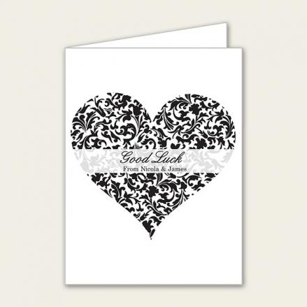 Heart Pattern - Lottery Ticket Holder
