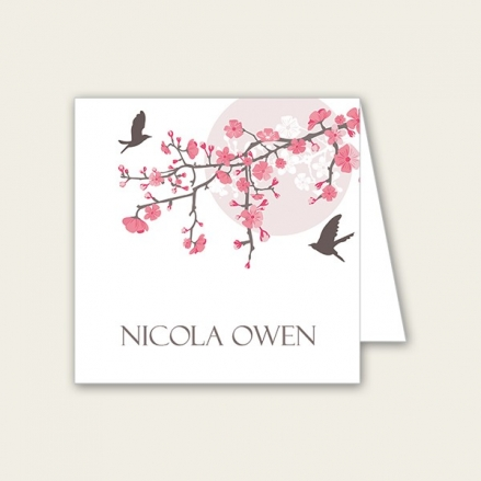 Blossoming Love - Wedding Place Cards