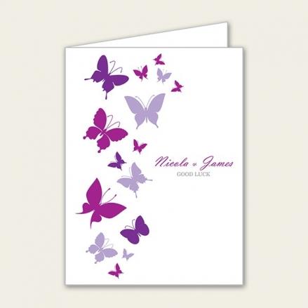 Summer Butterflies - Lottery Ticket Holder
