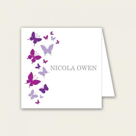 Summer Butterflies - Wedding Place Cards