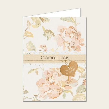 Shabby Chic Flowers - Lottery Ticket Holder