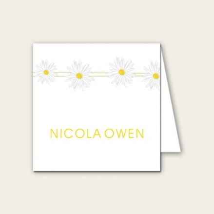 Delicate Daisies - Wedding Place Cards
