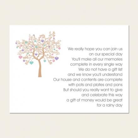 Love Tree - Gift Poem Cards