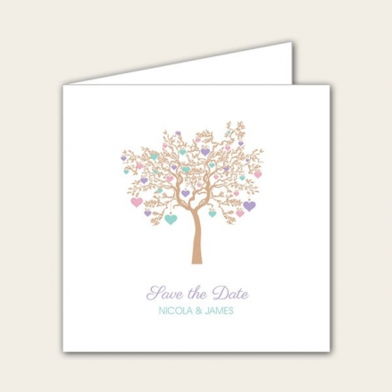 Love Tree - Save the Date Cards