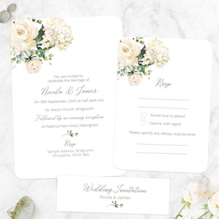 White-Country-Flowers-Boutique-Wedding-Invitation-&-RSVP