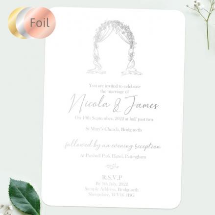 Floral-Wedding-Arch-Foil-Boutique-Wedding-Invitation