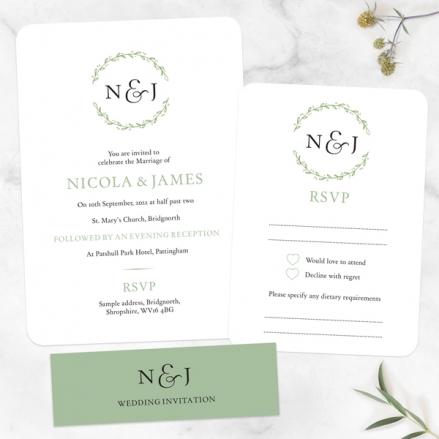 Monogram-Foliage-Boutique-Wedding-Invitation-&-RSVP