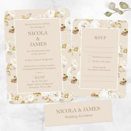 Vintage-Cream-Roses-Boutique-Wedding-Invitation-&-RSVP