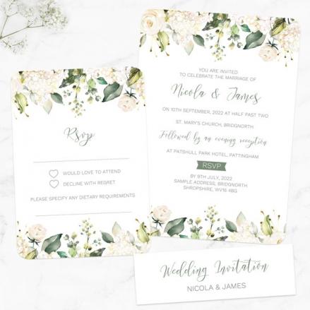 white-flower-garland-boutique-wedding-invitation-rsvp