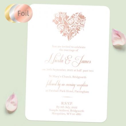 Ornate-Heart-Foil-Sample
