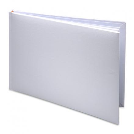 plain-diy-white-wedding-guest-book