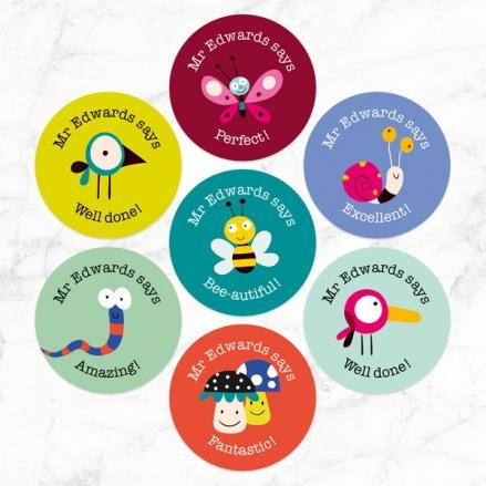 Wildlife Friends - Teacher Stickers - Pack of 35