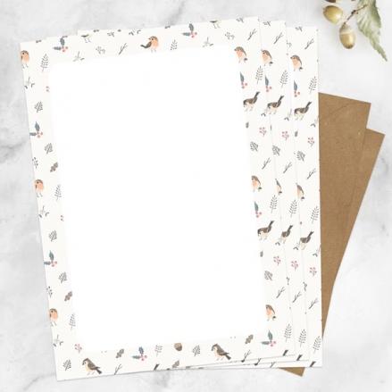 Winter-Robin-Letter-Set-Pack-of-20