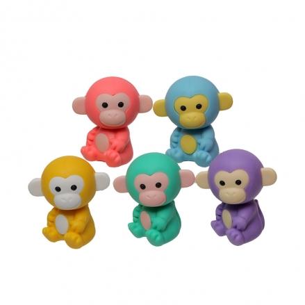 Iwako-Puzzle-Eraser-Colorz-Set-Monkey