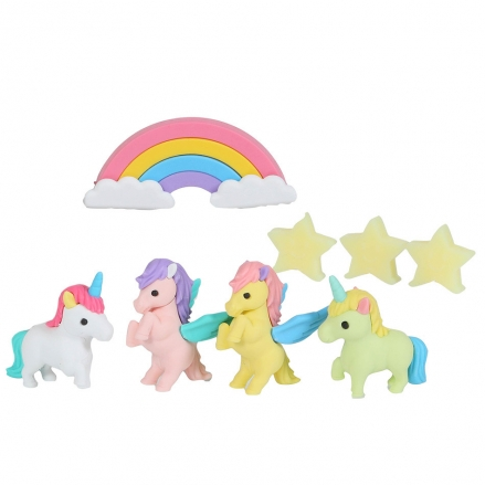 Iwako-Puzzle-Eraser-Set-Unicorn