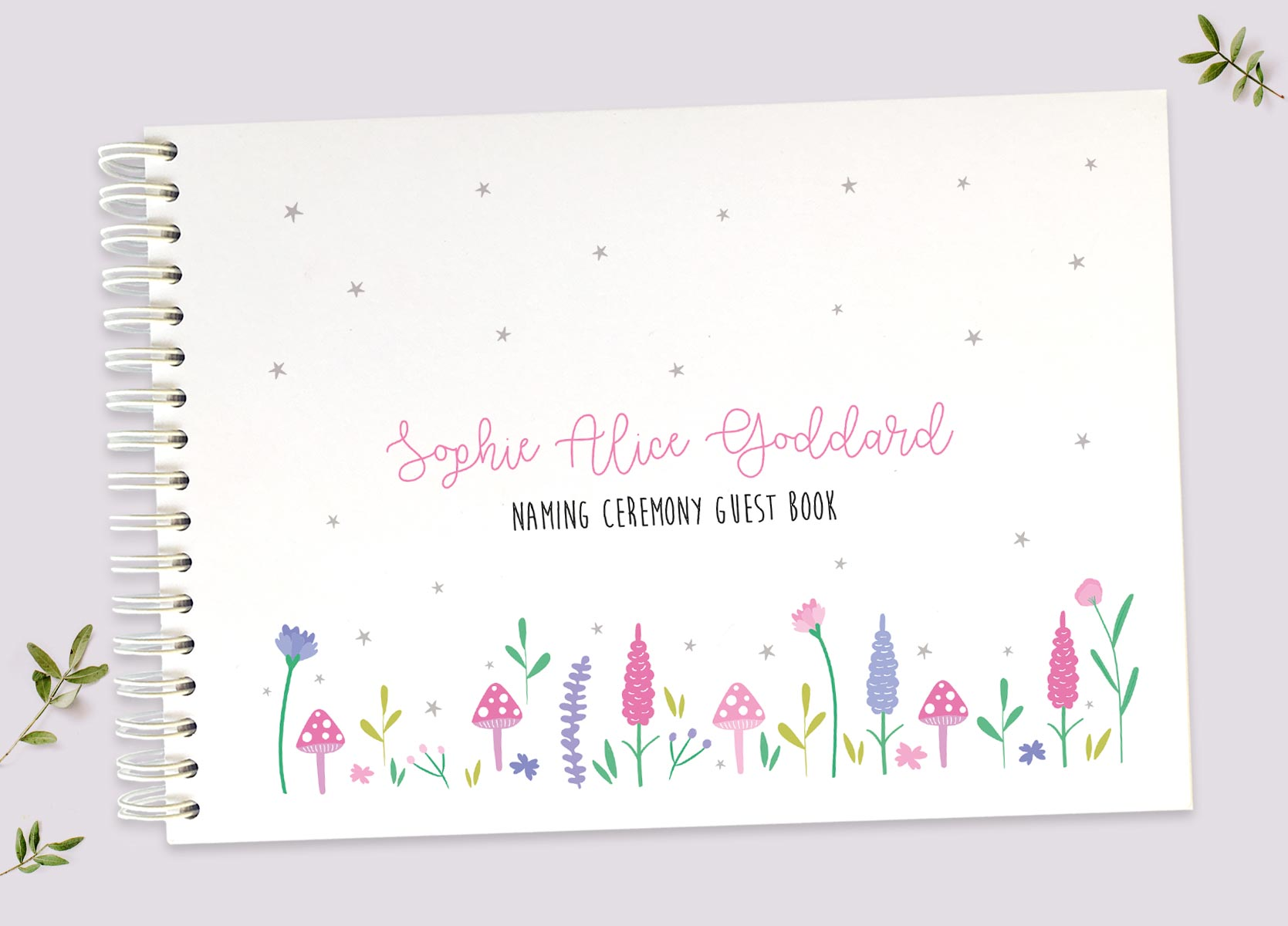 Naming Ceremony Guest Books