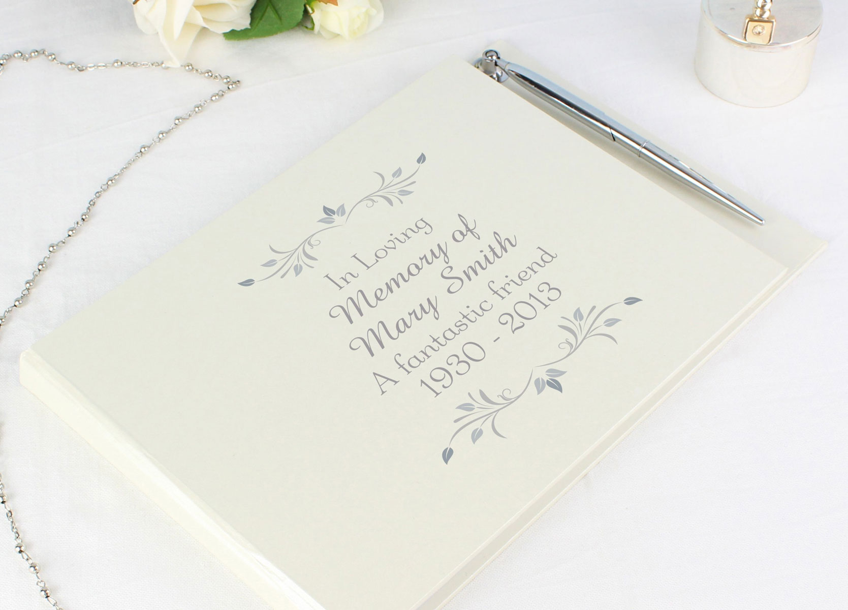 Condolence Book/Guest Book