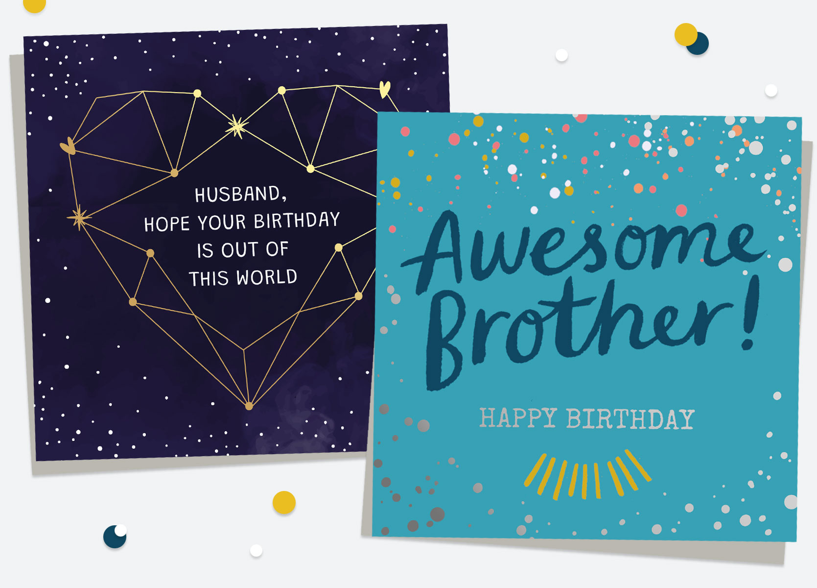 Birthday Cards For Him - Relative