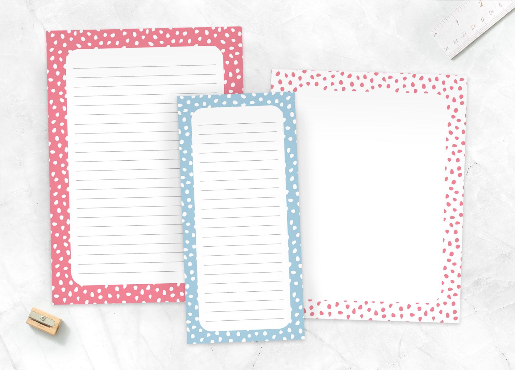 Notepads & List Pads