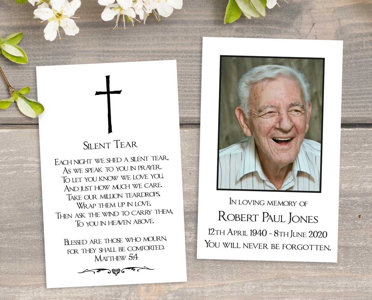 What is a Memorial Card?