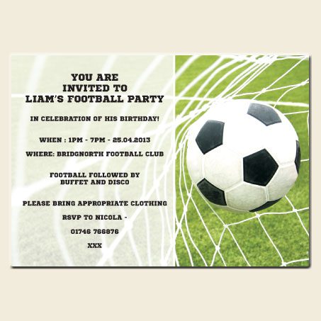 image relating to Free Printable Football Invitations named Why Generate Your Private Soccer Bash Invites Weblogs, Information