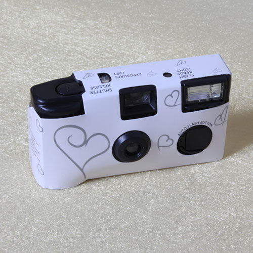 Disposable Wedding Cameras from The Card Gallery