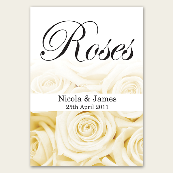 Wedding Table Names and Wedding Place Cards