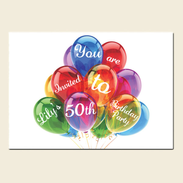 50th and 70th birthday party theme ideas