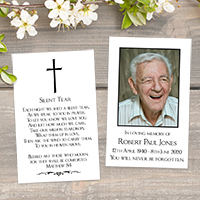 Ideas and Poems for Memorial Cards