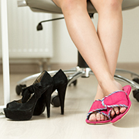 Would You Prefer Slippers or High Heels in Your Workplace?