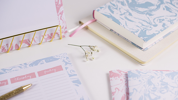 Getting Organised Desk Stationery Tips Sweet Sherbet Dreams Small