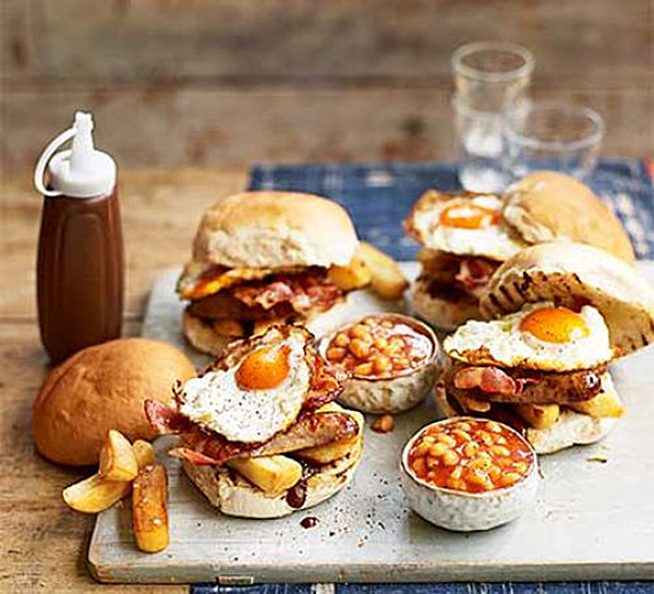 Father's Day Ideas - BBC Food Breakfast Baps