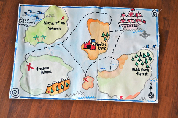Plan a Pirate Party! - Make the Best of Everything - Map