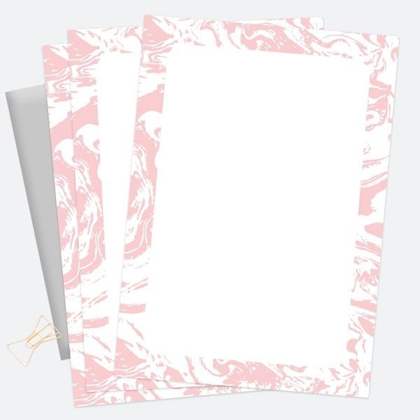 Long Lost Tradition of Writing Cards - Sweet Sherbet Dreams - Notelet Writing Set - Pack of 20