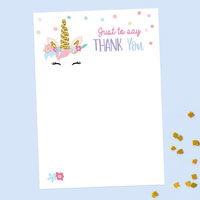 How to Write a Birthday Thank You Note