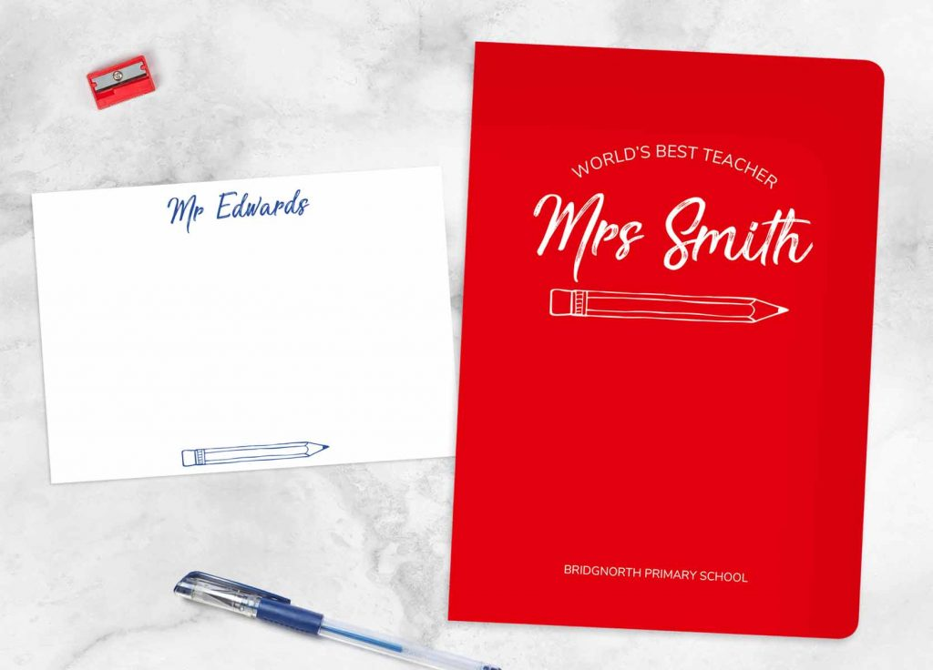 How Much to Spend on a Gift for Your Teacher Note Card