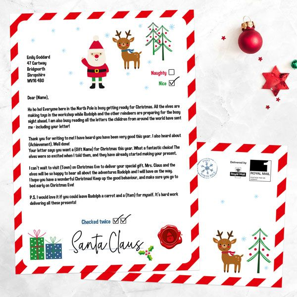 How To Write A Letter From Santa To Your Kids Blogs News Advice