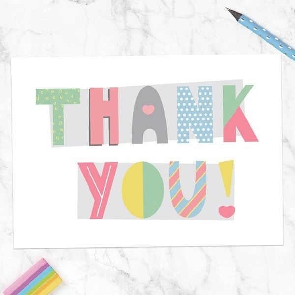 How to Choose a Beautiful Birthday Invitation Card? - Ready to Write Thank You Cards - Funky Typography