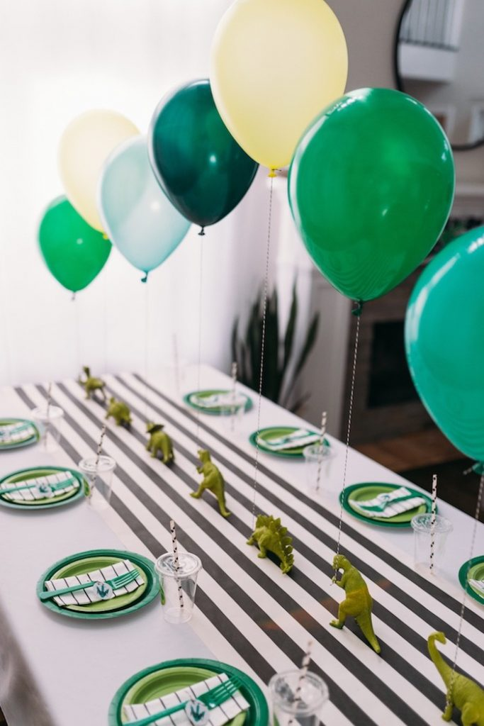 How to Throw a Dinosaur Party for Kids - Kara's Party Ideas