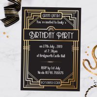 How to Have a Gatsby-Themed Party