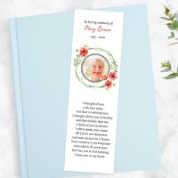 Who Receives a Funeral Bookmark?