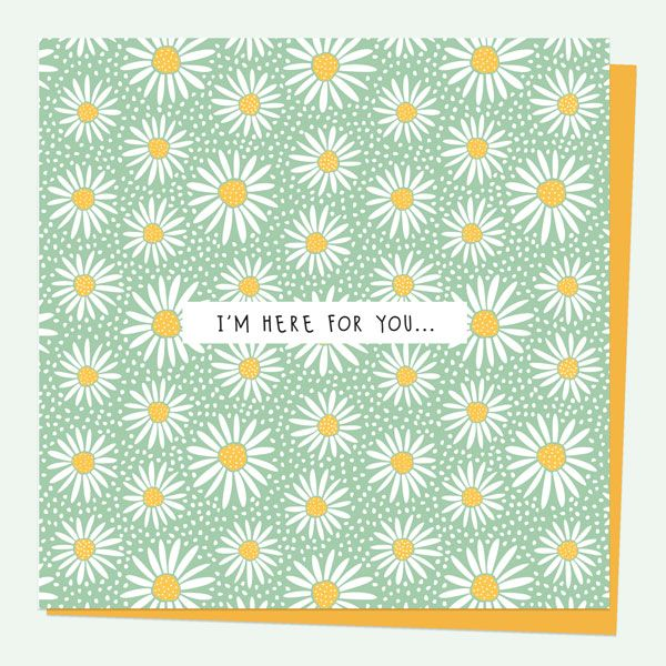 What to Write in a Thinking of You Card? - Thinking of You Card - Oopsy Daisies - I'm Here For You